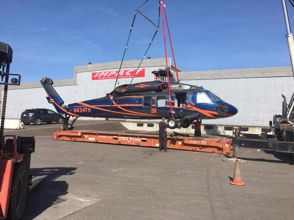 helicopter shipping